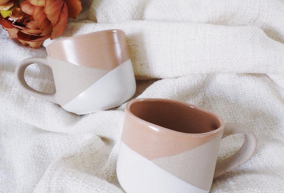 Saffron Speckled Stoneware Mug