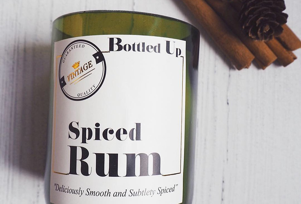 Spiced Rum Scented Candle