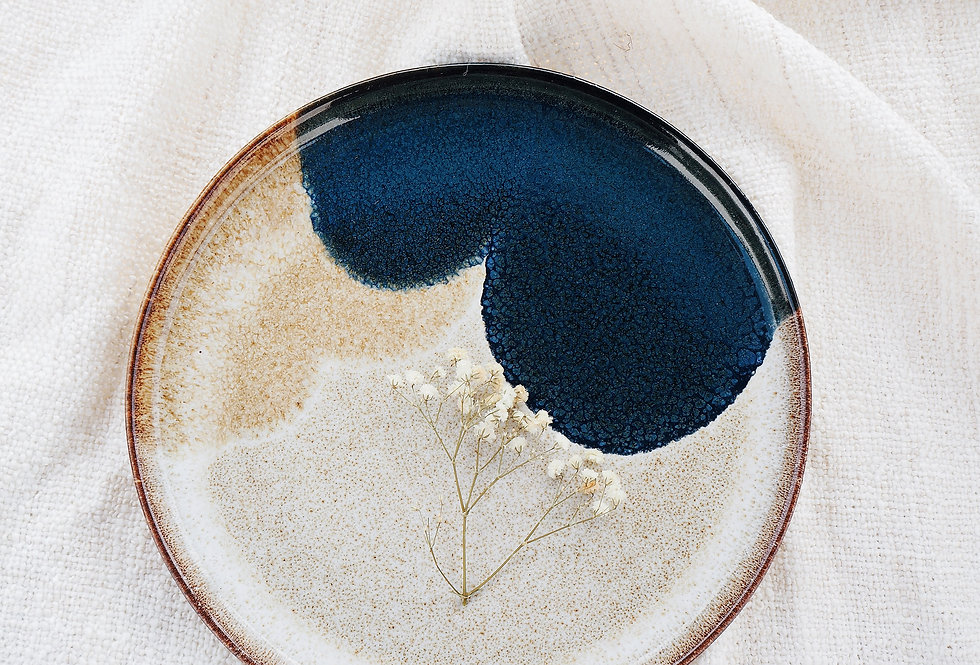 Two-Tone Stoneware Side Plate