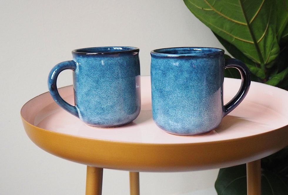 Midnight Blue Glaze Stoneware Mug
