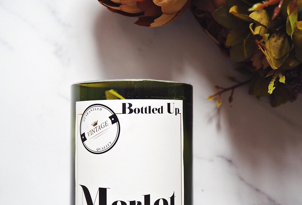 Merlot Scented Candle