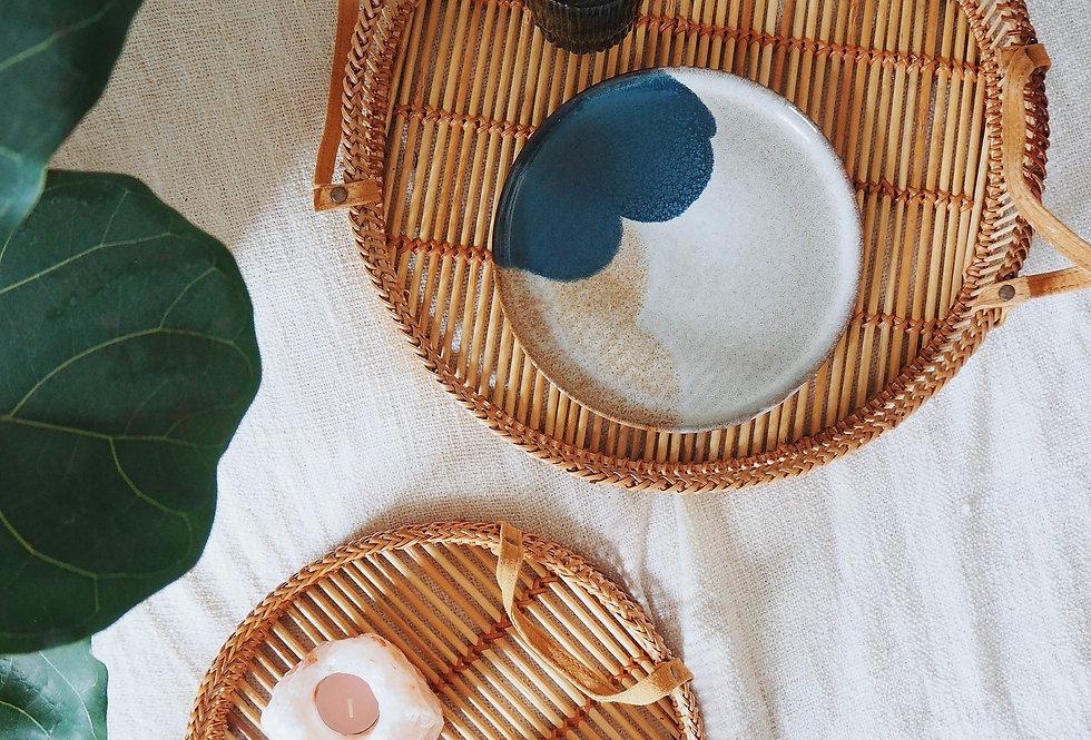 Natural Bamboo Trays (Set of 2)
