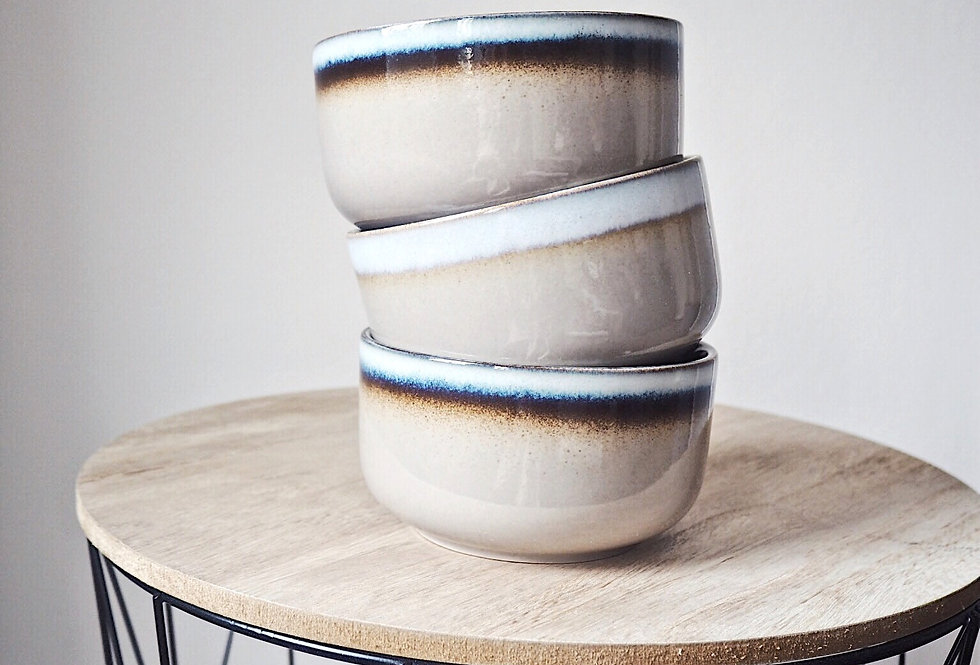 Rustic Ombre Stoneware Cereal Bowl