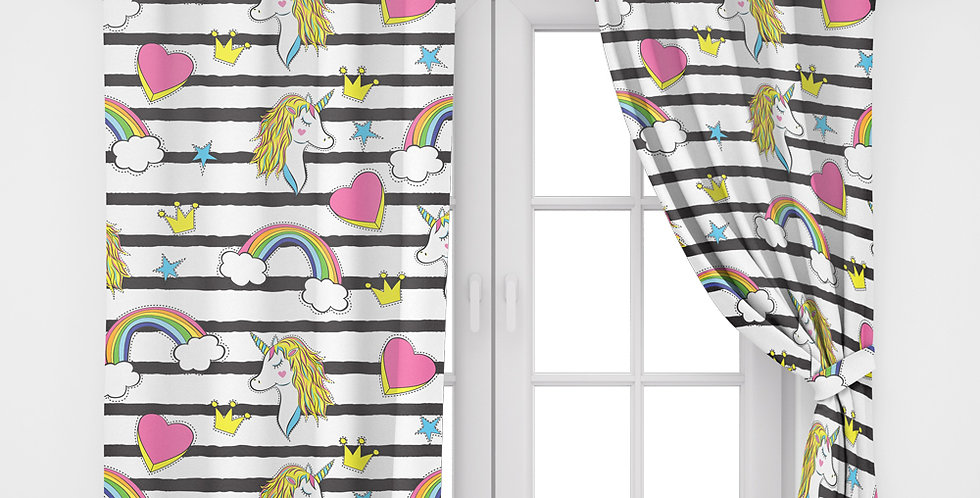 Home2Go Unicorn Single Curtain