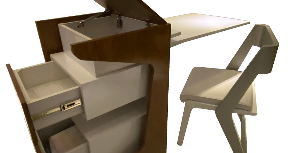 3 in1 Smart Desk with Drawer and Chair