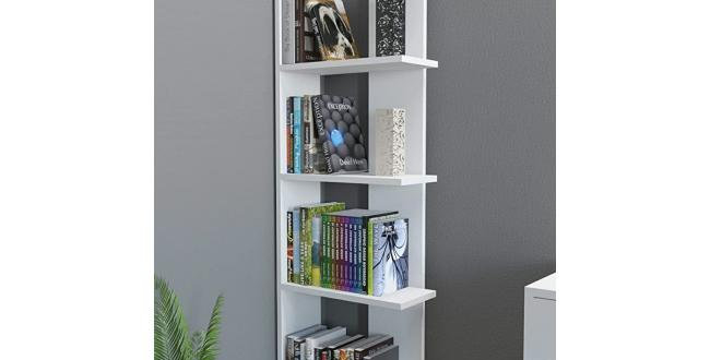 Wooden Stand Shelf White