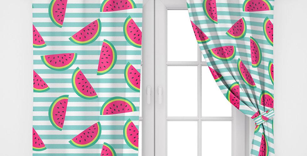 Home2Go Watermelon Single Curtain