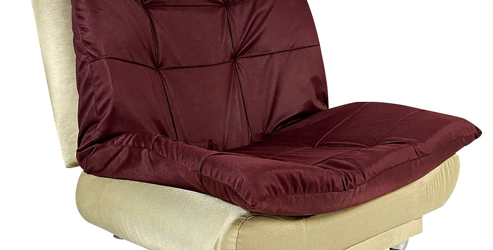 Home2go Modern Chair bed Maroon