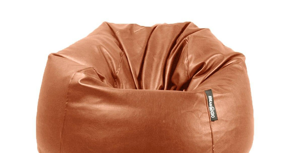 Grand Beanbag Leather Burgundy (95*75CM)
