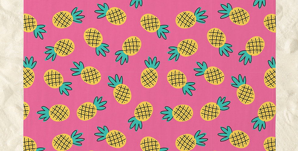 Bean2Go Pineapple Beach Mat