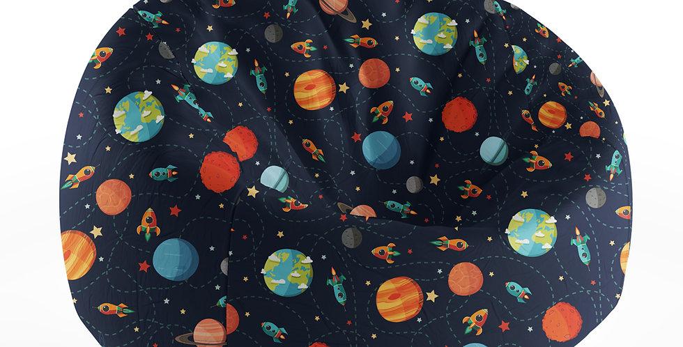 Grand Bean bag Printed Space
