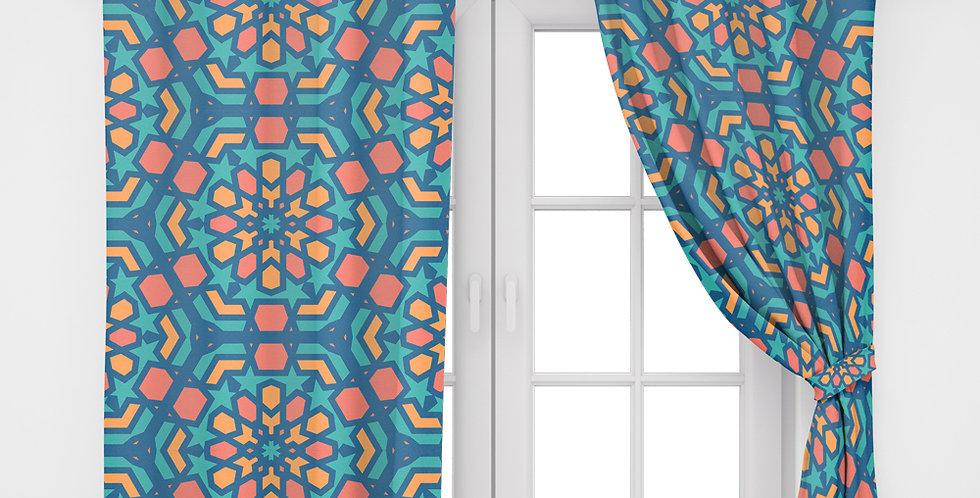 Home2Go Ramadan Double Curtain