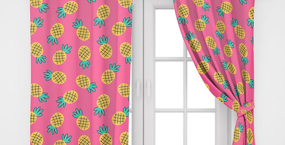 Home2Go Pineapple Single Curtain