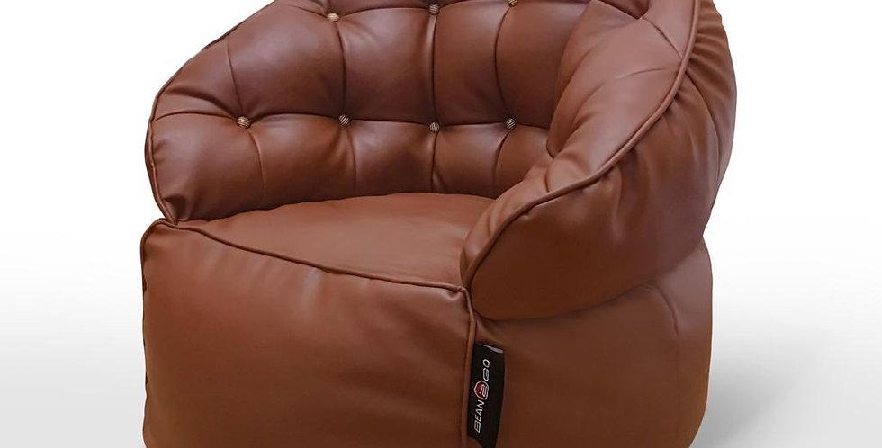 Luxury BeanBag Chair Leather (90 *90 CM)