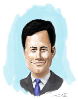 Jimmy Kimmel Caricature