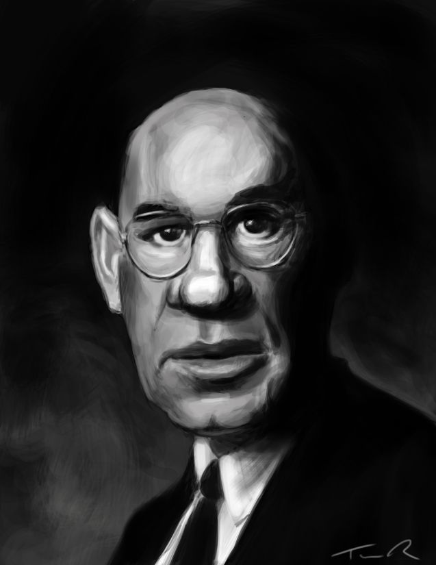 Mitch Pileggi Caricature