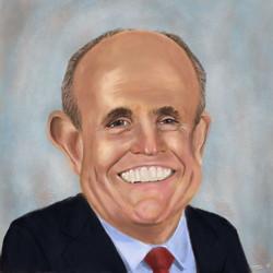 Rudy Giuliani Caricature