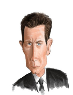 Robert Patrick Caricature
