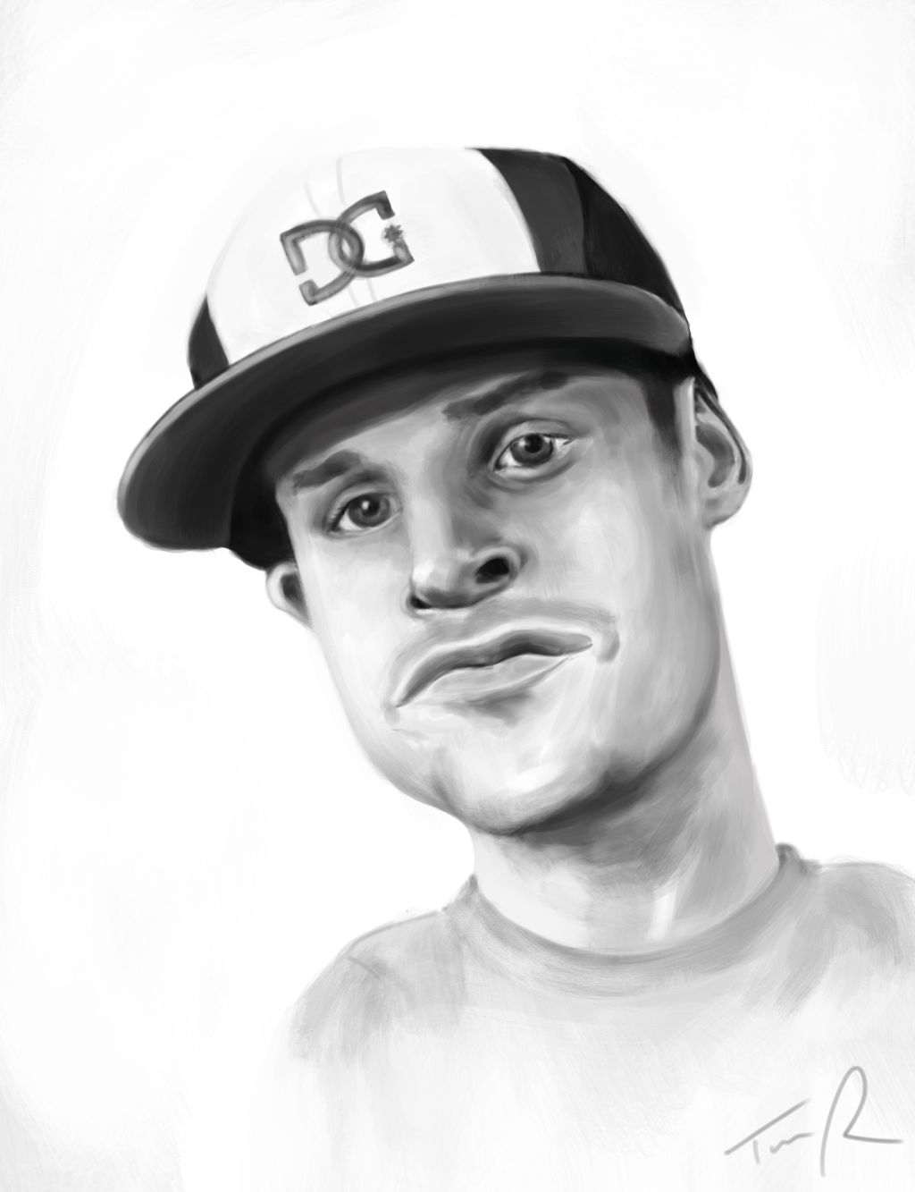 Rob Dyrdek Caricature