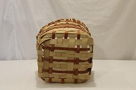 Orange bicycle basket base detail.JPG