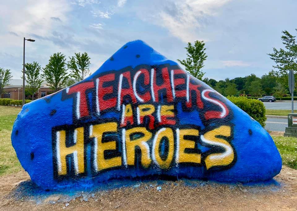 teachers are heros rock.jpeg