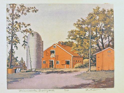 Minnesota Barnyard 1948