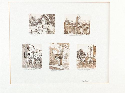 Five European Scenes (no date)