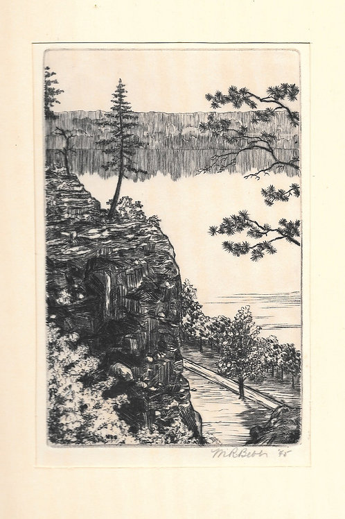 Untitled (Above the Arkansas) 1945