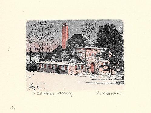 T.Z.E. House, Wellesley 1952