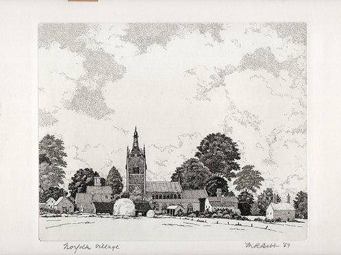 Norfolk Village 1957