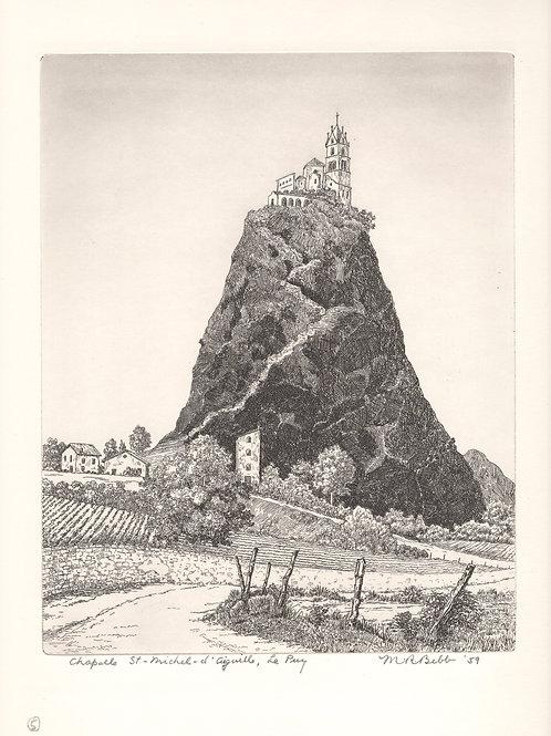 La Chapelle St. Michel d'Aguille 1959