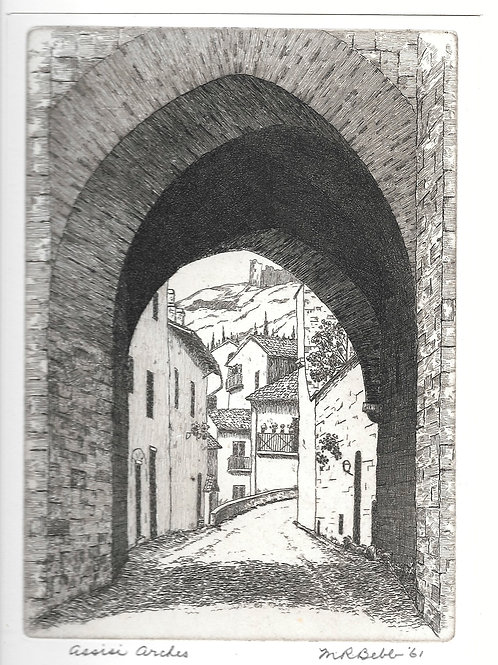 Asissi Arches 1961