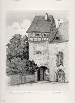 Klingenton Gate, Rothenburg 1957
