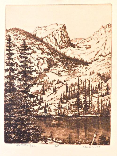 Halletts Peak 1947