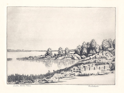 Lake Belle Taine (no date)