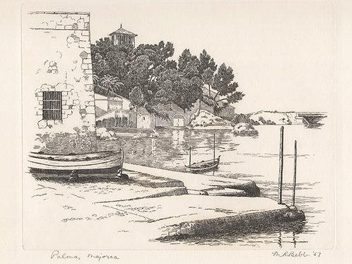 Palma, Majorca 1957