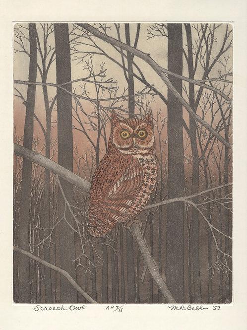 Screech Owl 1953