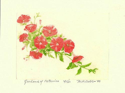Garland of Petunia 1984