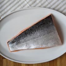 King Salmon Skin Side