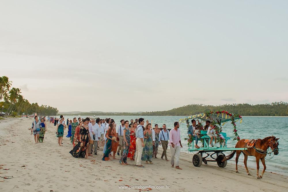casamento na praia de tamandaré