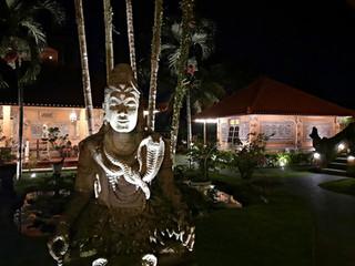 Inner Courtyard at Night