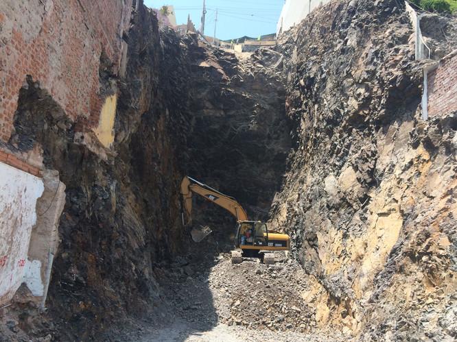 Excavación Masiva en Roca