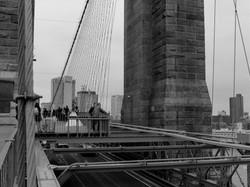 Wedding on bridge