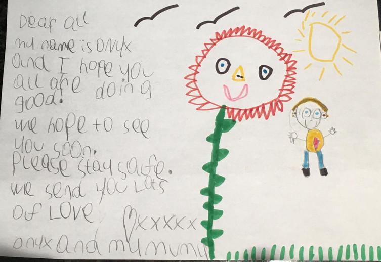 Children developing spiritual qualities on Zoom