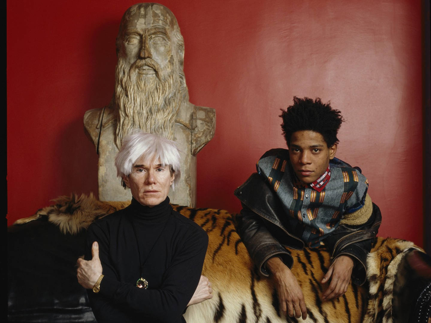 Tale of Two Legends: Warhol and Basquiat