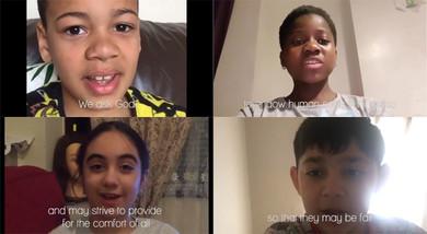 Children creating unity in Northern Ireland