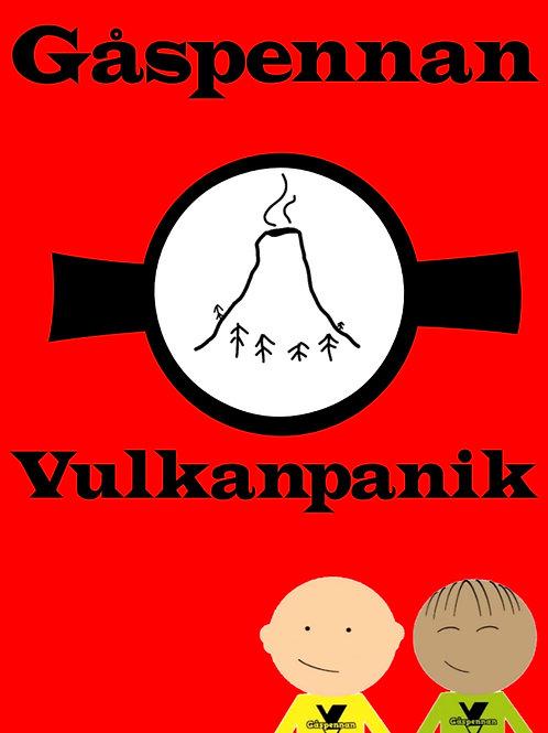 Gåspennan - Vulkanpanik (Digital bok i PDF-Format)
