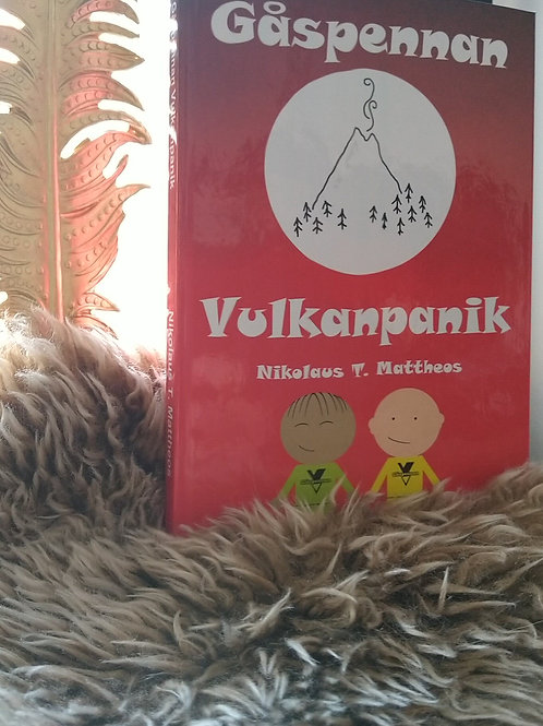 Gåspennan - Vulkanpanik (Bokpaket , 5 st tryckta böcker)