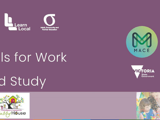 Skills for Work and Study - Early Childhood Education
