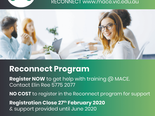 Get help with training in 2020!
